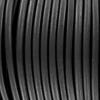 Bracelet cuir Regaliz - Noir