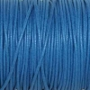 Bracelet enfant - cordon coton ciré - Bleu electrique roi