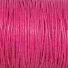 Bracelet enfant - cordon coton ciré - Rose magenta