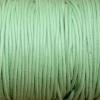 Bracelet enfant - cordon coton ciré - Vert anis