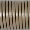 Bracelet enfant - cuir plat - Brun taupe