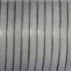 Bracelet enfant - cuir plat - Gris clair