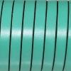 Bracelet enfant - cuir plat - Vert turquoise