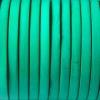 Bracelet enfant - cuir plat - Vert lagon
