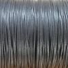 Bracelet femme - cordon coton ciré - Noir