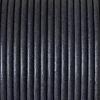 Bracelet femme - cordon cuir - Gris-Foncé-Mat