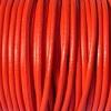 Bracelet femme - cordon cuir - Orange