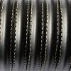 Bracelet - cuir-media-cana - Noir