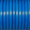 Bracelet femme - cuir plat - Bleu Electrique Roi