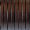 Bracelet femme - cuir plat - Chocolat