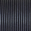 Bracelet homme - cordon cuir- 2mm - Gris fonce mat