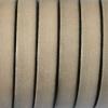 bracelet cuir homme - 10-mm- Beige clair