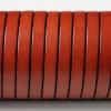 bracelet cuir homme - 10-mm - Marron cognac