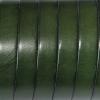bracelet cuir homme - 10-mm - Vert sapin