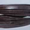 Bracelet Homme cuir plat vieilli 5mm - Brun