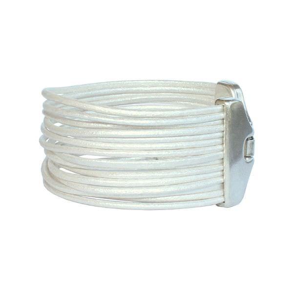 Bracelet-cuir-femme-manchette-cordon-cuir-blanc-argente-2