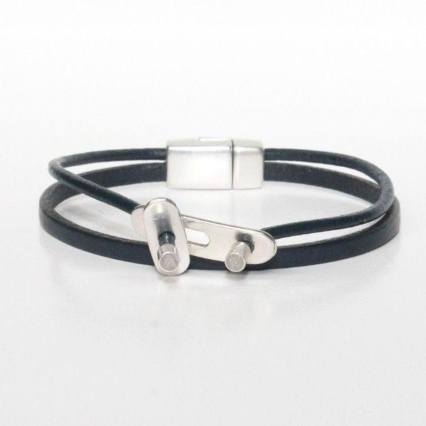 bracelet enfant cuir garçon original multi liens 1