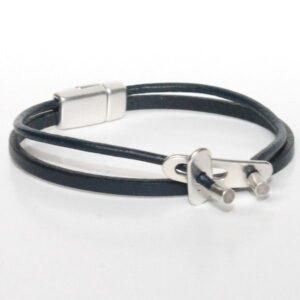 bracelet enfant cuir garçon original multi liens 2