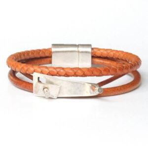 bracelet bijoux homme cuir cadeau original 1
