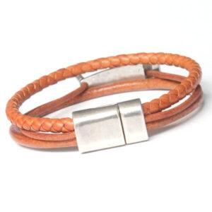 bracelet bijoux homme cuir cadeau original 2