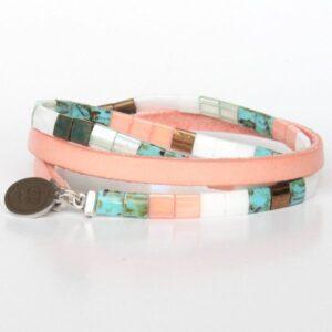 bracelet perles Miyuki Tila verre du japon perle carrée 3