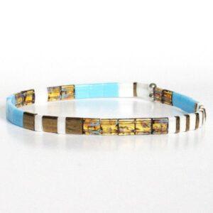 bracelet-perles-femme-miyuki-colorées-multicolore-plates-turquoise-marron-verre-Japon-2-600