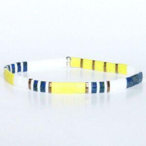 bracelet-femme-perles-verre-du-japon-miyuki-perle-carrée-plate-multicolore-coloré-jaune-flashy-1