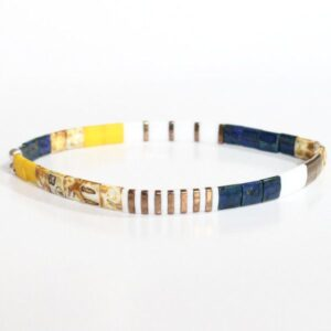 Bracelet en perles Miyuki verre japonais bracelet elastique 1