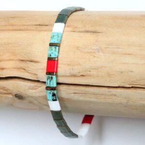 bracelet perles tendance 2021 miyuki tila verre du Japon-coloré tendance 4